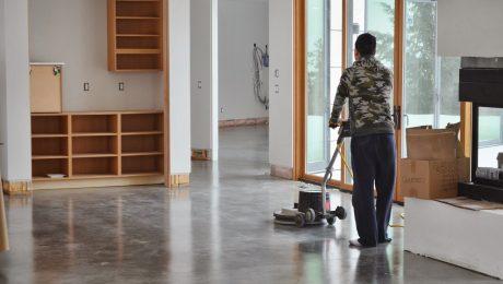 Concrete Floor Cleaning Montreal