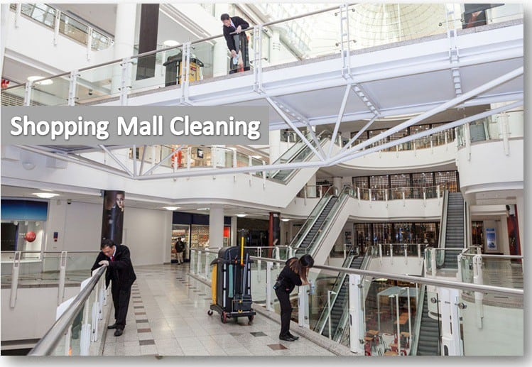 Shopping Mall Cleaning Services Montreal
