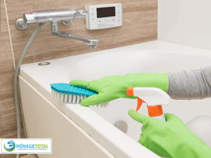 Bathroom Healthy Cleaning