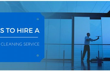 Hire a commercial cleaning service