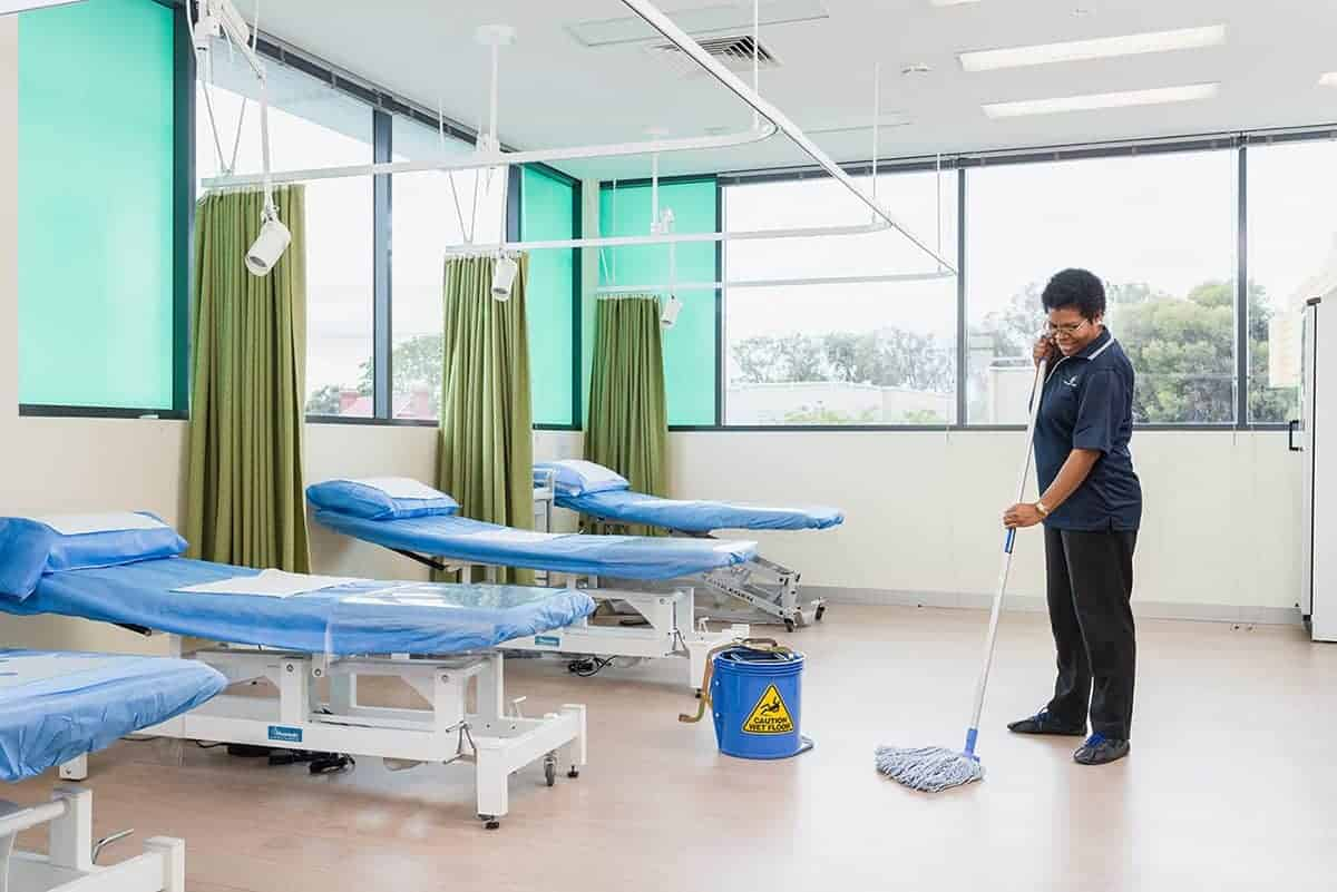 Health Centers Cleaning Services