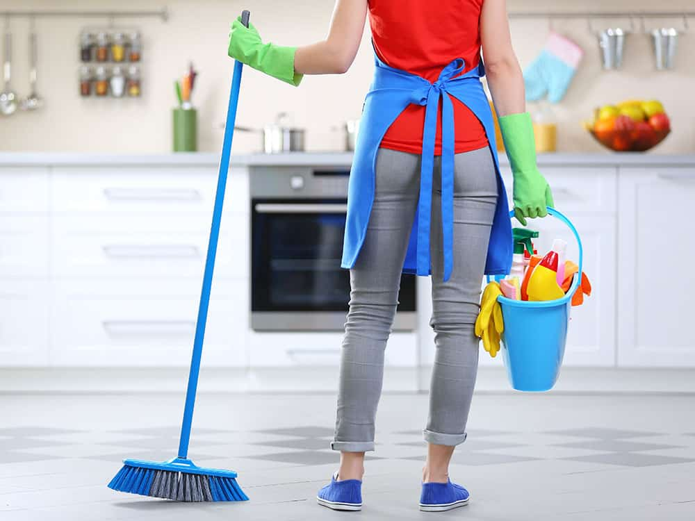 House Cleaning Checklist Components