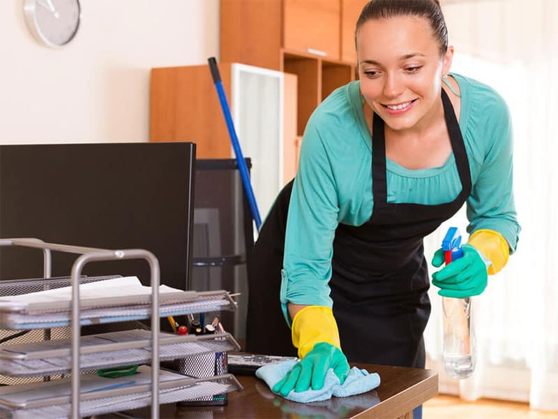 Dust Your Office The Professional Way