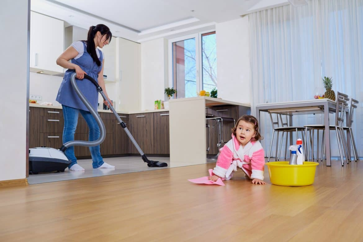 Ways to cut cleaning time