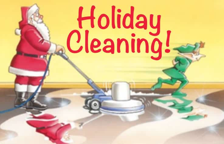 Holiday Cleaning List