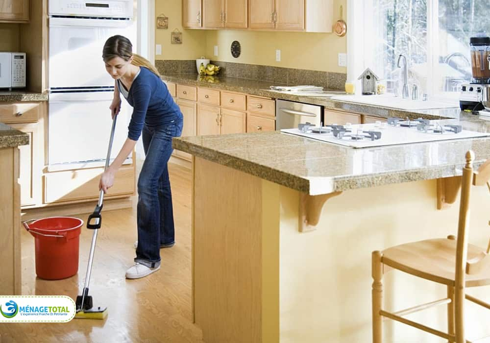 Basic Level of Kitchen Clean in Montreal