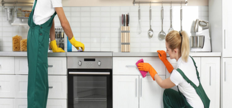 routine kitchen cleaning services